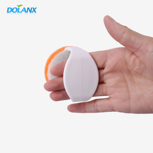 small dual purpose suction cup dish cleaning brush