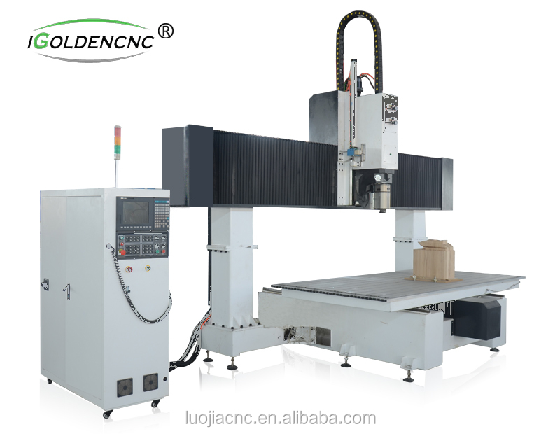 high speed and professional cnc router 5 axis for wood,foam,sculpture, artworks engraving