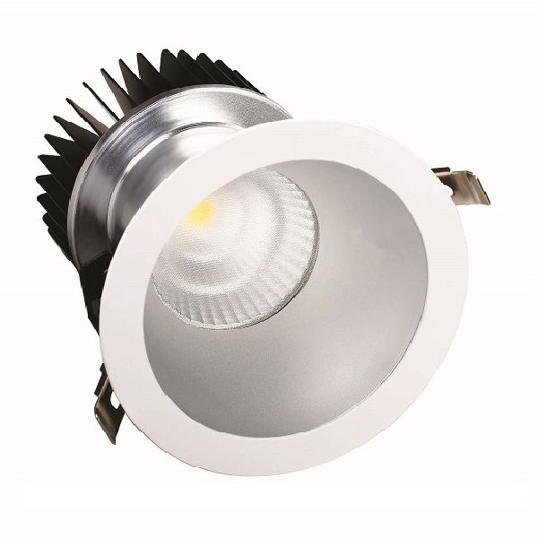 6 Inch 8 Inch 10 Inch Round Recessed LED Downlight, Glareless LED Down Light 22W 28W 38W 50W 60W 70W 80W 100W