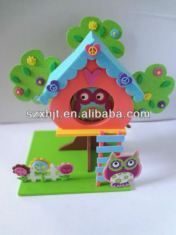 Kids Foam Craft Kits Diy 3d Tree House
