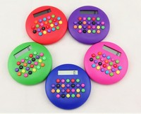 Multi Color 8 Digit Round Bunty Shape Calculator for Advertising