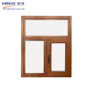 UPVC frame sliding windows and doors upvc windows sections with tempered glass upvc sliding window grills