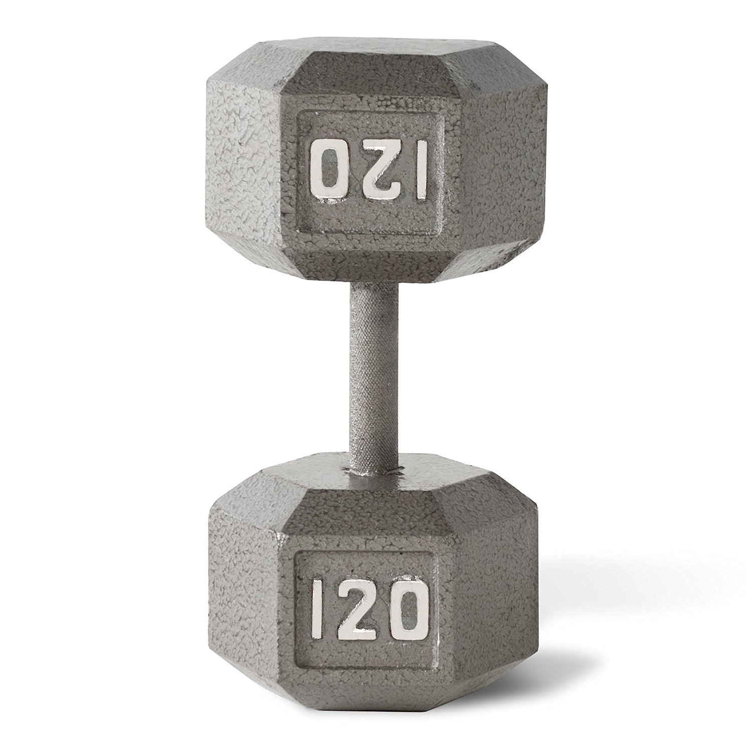 CAP Barbell SDG Economy Cast Iron Hex Dumbbell Set - 105, 110, 115, 120 lbs (4 pairs) - Extra Heavy Dumbbell Expansion Set
