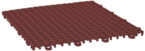 5.5-by-5.5-Inch 50-Pack 60-Grit Brick Red Safety Track 3340 Non Slip High Traction Safety Tape
