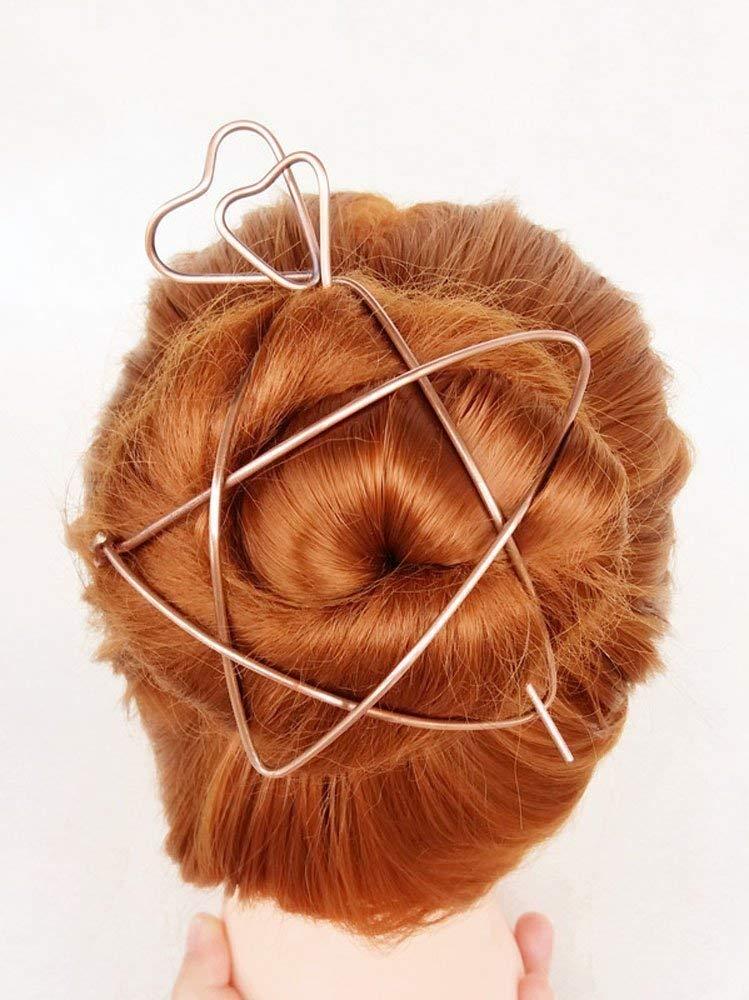 Zest Flower Hair Slide Clip Corsage Jade Green