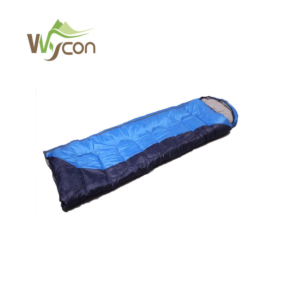 Single 3 season outdoor camping hiking sleeping bag with cheap price