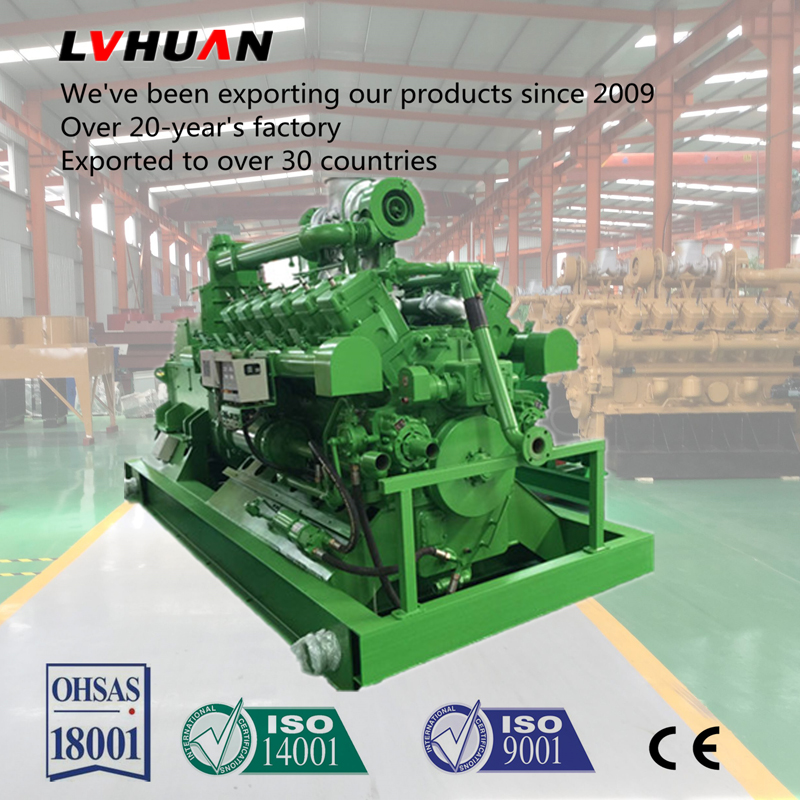 China supplier hot sale 10kva-1000kva electricity generator CHP nature gas generator