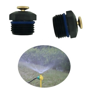 Quality copper screw refraction mist nozzle 360 degree water spray sprinkler for irrigation