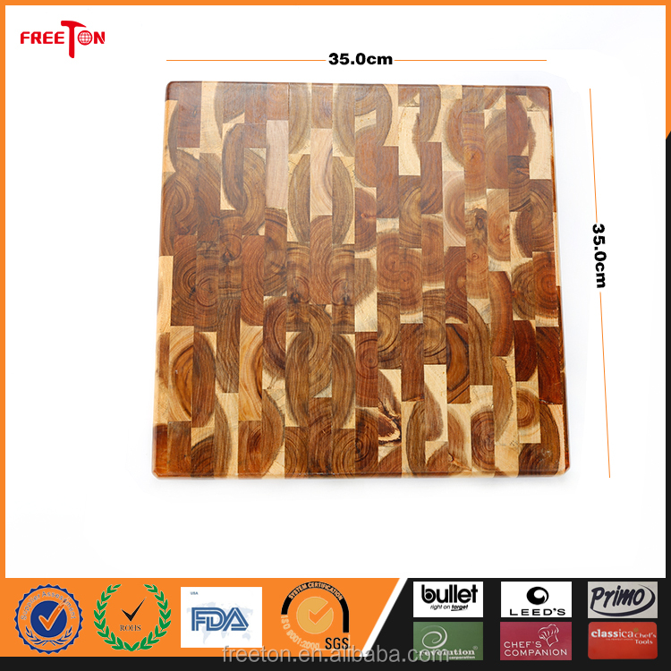 Whole Cheese Acacia Wood Cheese Cutting Board