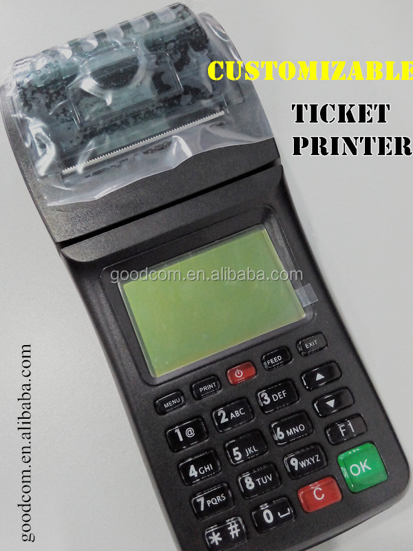 OEM & ODM GPRS SMS Printer for E Vouchers and Prepaid Utility Bill Payment