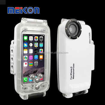 Meikon waterproof case for Iphone 7 diving case for iphone 7 plus underwater housing diving case for iphone