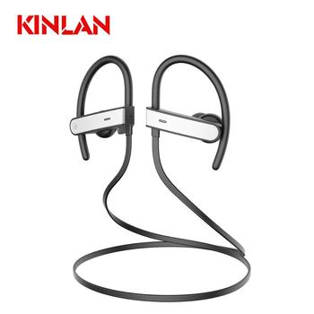 KINLAN Running sport earbuds handsfree bluetooth headsets earphone with music Microphone