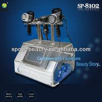4 Heads portable ultrasonic cavitation+RF (SP-8102) CE/ISO fat loss slimming device