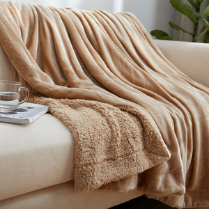100% polyester high quality flannel fleece snuggie blanket