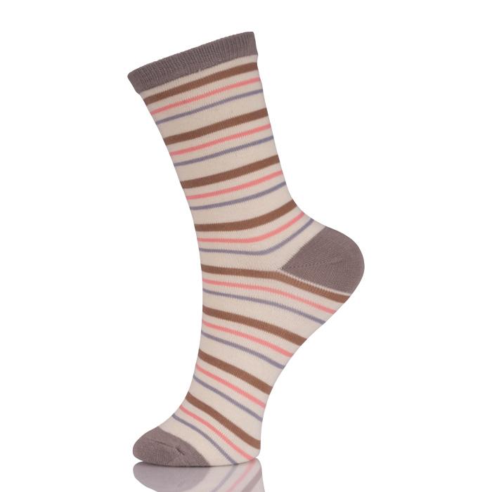 Awesome Ladies Striped Dress Socks
