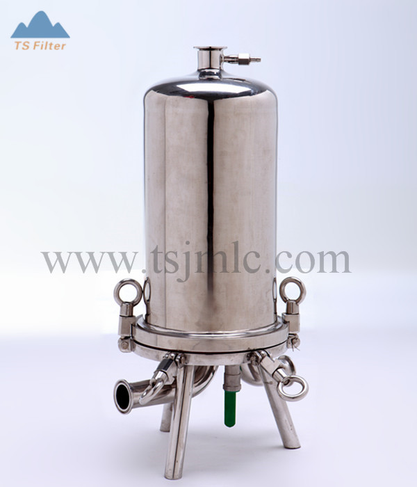 Stainless Steel 304 dan 316 Bahan Filter Air Housing untuk Cairan, Cairan dan Gas Filtration