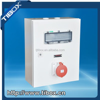 TIBOX Hot Sale IP66 Socket Outlet Box / One Circuit Power Industrial Electrical Socket Outlet Box