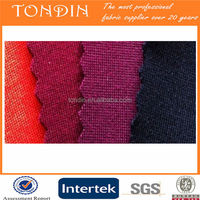 Polyester or rayon knit ponte roma fabric for garment wholesale/couple polo shirt