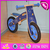 2016 new brand design kid wooden balance bike,popular wooden road bike,top fashion children wooden walking bike W16C112