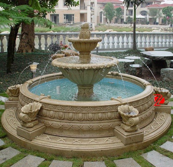 Round Pot Natural Stone Garden Water Fountain For Sale   Buy Water Fountain,Garden  Water Fountain,Dancing Water Fountain Product On Alibaba.com