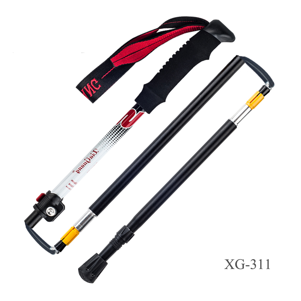 Swiss Gear Anti Shock 하이킹 극 Aluminum Expandable Walking Stick