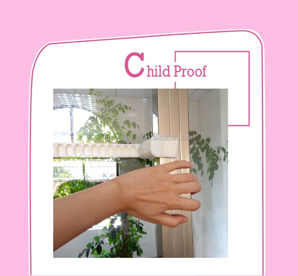 Sliding Door Lock for Child Safety Childproof your Home with No Screws or Drills