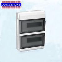 Factory supply wall mounted waterproof pvc electronic circuit box , main switch box
