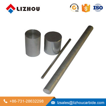 ZHUZHOU LIZHOU Solid Round 8mm Steel Carbide Rod with One Hole
