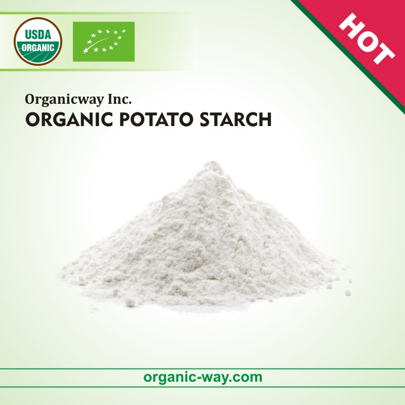 Bio Organic potato starch powder