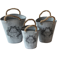 Customized Antique Flower Planters Wholesale Ceramic Indoor Metal Flower Pot