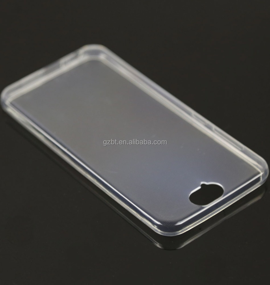 Cell phone housing transparent ultra thin soft tpu clear back cover for HTC ZARA/601/619D