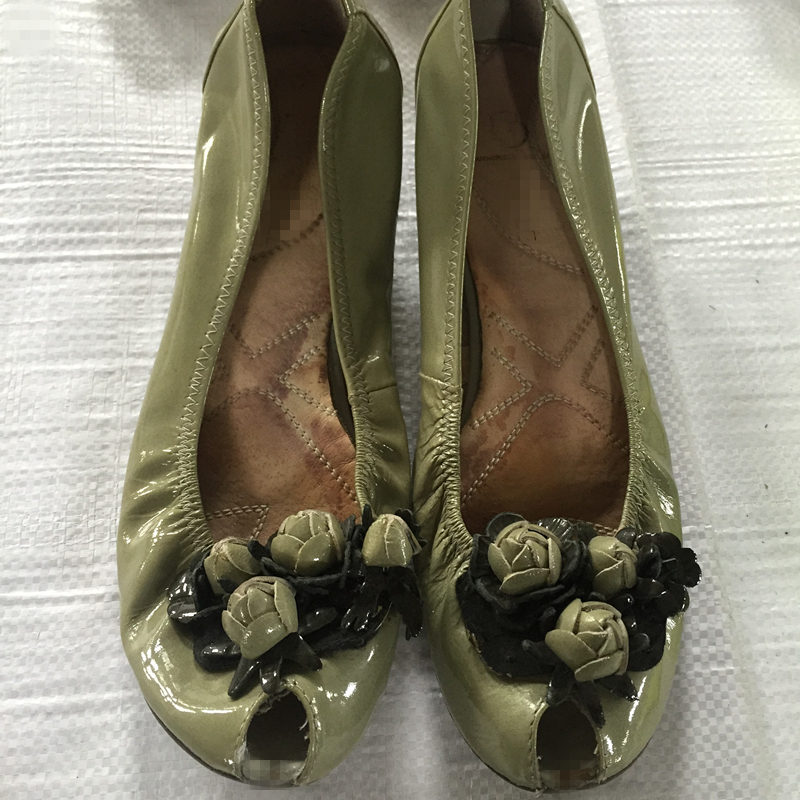 Quality wholesale second hand shoes 25kg bales used women shoes