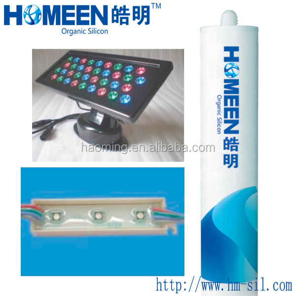 Liquid RTV Electrical Silicone Rubber Potting Compound for LED display HM-312