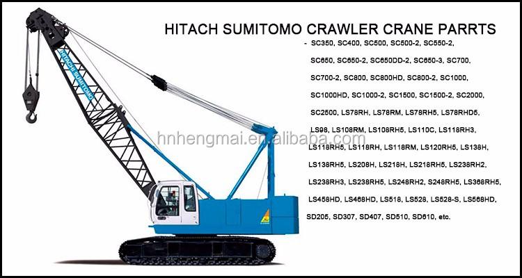 Parts Of A Crane Boom : Liebherr crawler crane lr main boom and