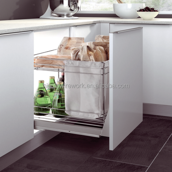 Hot Selling Kitchen Cabinet Base Unit Pull Out Basket Buy Kitchen
