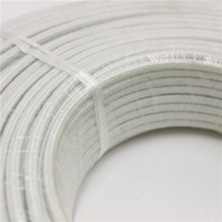 Custom specifications silicon rubber high temperature braided copper wire