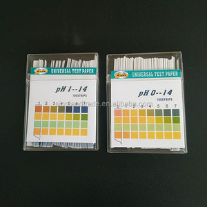 rapid high accurancy 0-14/ 1-14 ph test strips