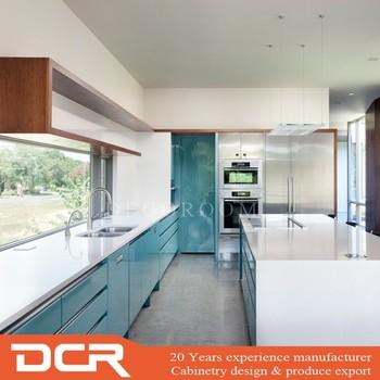Kitchen Alumunium Set Kitchen And Living Space Interior