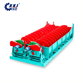Hot sale double spiral sand washer machine, spiral washing machine