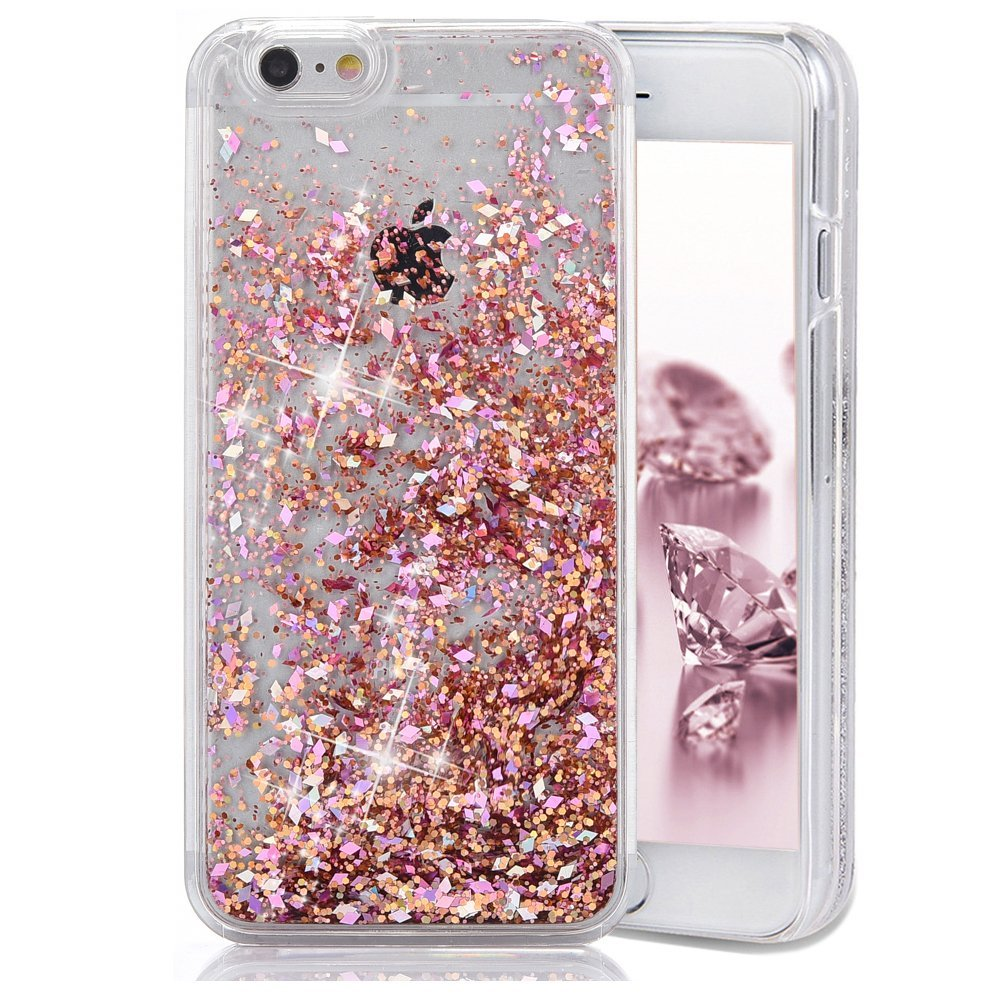 def84ab04 Get Quotations · iPhone SE Case, iPhone 5 5S Case, Crazy Panda Luxury 3D  Creative Liquid Diamond