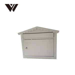 WELDON China Supplier Metal Locking Security Mailbox For Letter Parcel Mail Box Steel Post
