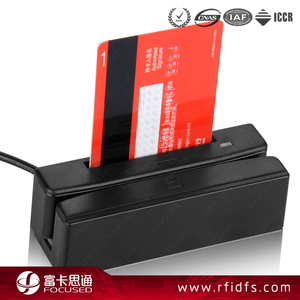 Hotel Access Control Passive Rewritable MIFARE Classic 1K RFID Card With Magnetic Strip