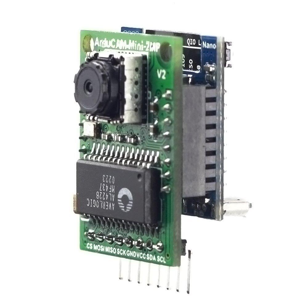 Arducam 2MP Camera Shield V2 Evaluation Kit Included Mini Camera Shield with OV2640 2 Megapixels Lens and ESP8266 Nano Esp-12F Module