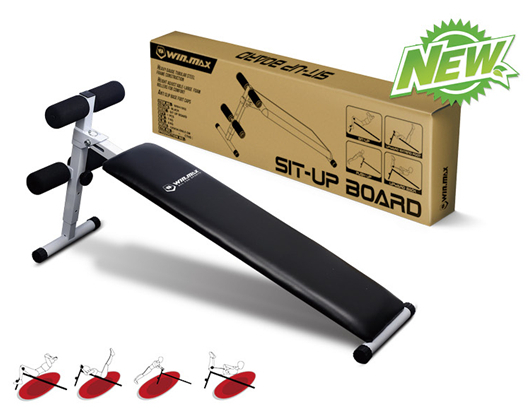 How do you use a sit-up bench?