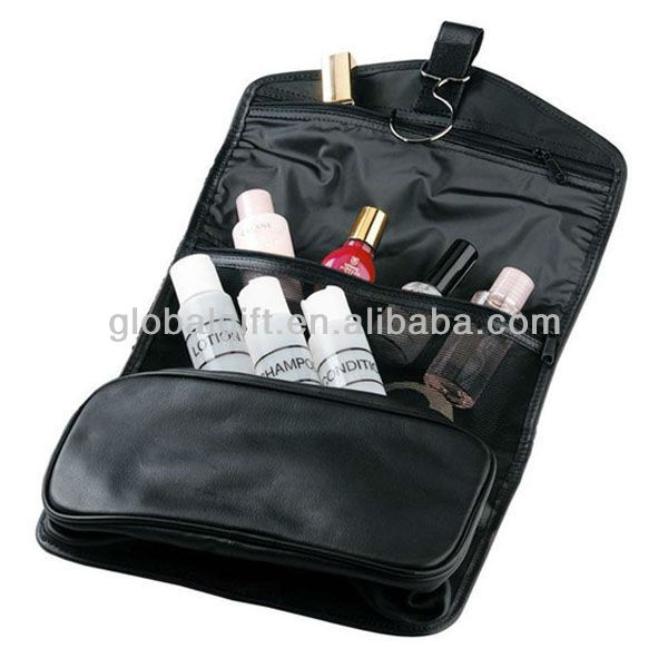 Personalized Leather Toiletry Kit