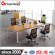 Modern Decorative Square Tube office meeting Table Leg