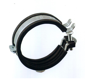 a17 3 15 customized tube clamp zinc plated pipe clamp rubber hose clamp