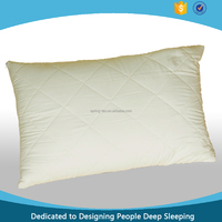 Top quality 100% polyester quilted pillow cover/pillow case/pillow protector