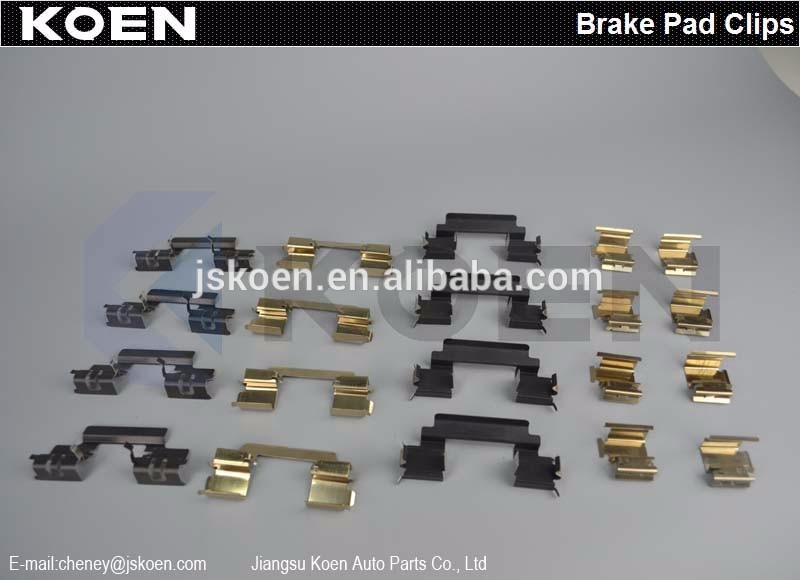 Supply Brake Pad Clips FMSI D1168-8281 2874852 PAGID RS4-2-1 Use For ASTON MARTIN