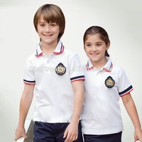 Custom School uniform design Cheap bulk primary school uniforms